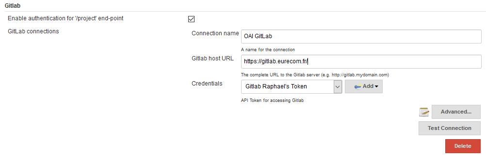 jenkins and gitlab interactions · Wiki · oai / openair-ci